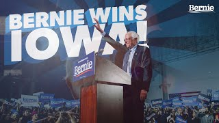 Bernie Wins Iowa! Thank you Iowa for bringing our campaign to victory! We are well-positioned to win the Democratic nomination and defeat the most dangerous president in the ..., From YouTubeVideos