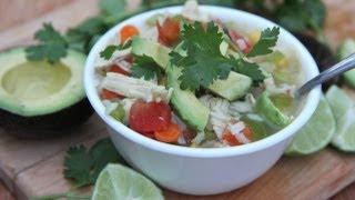 Fresh Mexican Chicken Soup Recipe
