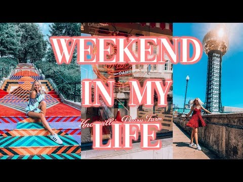 COLLEGE WEEKEND IN MY LIFE | Knoxville, TN