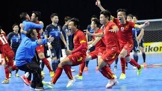 Giao hữu Futsal: VIỆT NAM - AI CẬP 10/08