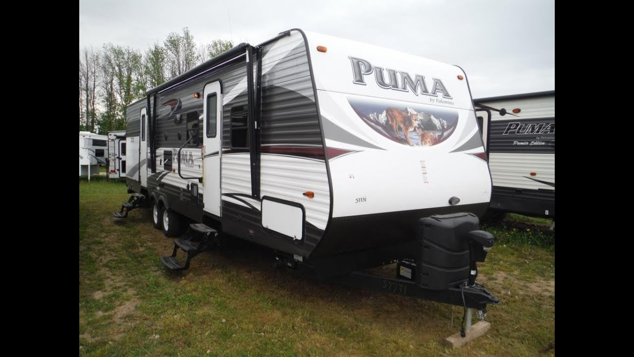 2016 Puma 31BHSS 2 bedroom Travel Trailer with Bunks ...