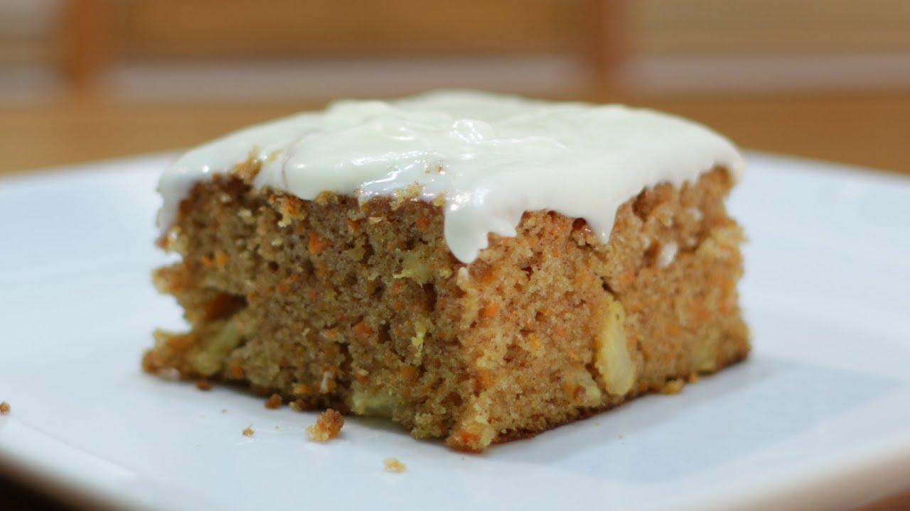 How To Make Carrot Cake Easy Moist Carrot Cake Recipe Youtube