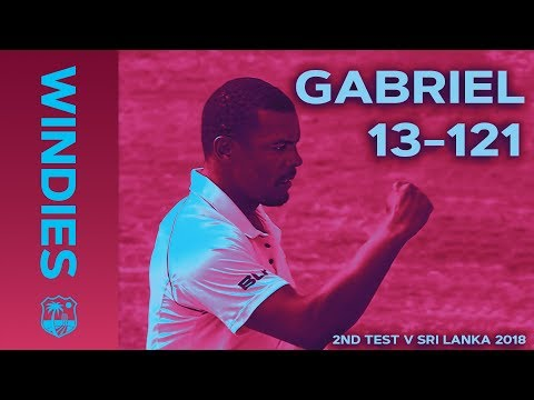 Gabriel enters WINDIES record books: best figures EVER on Windies Soil | Windies Finest Mp3