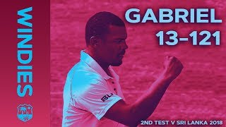Gabriel enters WINDIES record books: best figures EVER on Windies Soil | Windies Finest