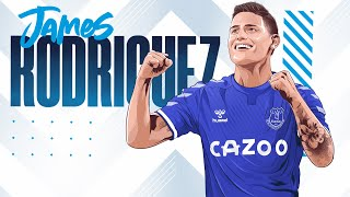 JAMES RODRIGUEZ SIGNS FOR EVERTON! | FIRST INTERVIEW WITH COLOMBIA SUPERSTAR