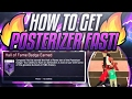 HOW TO GET POSTERIZER BADGE FAST | ALL POSITIONS | NBA 2K17