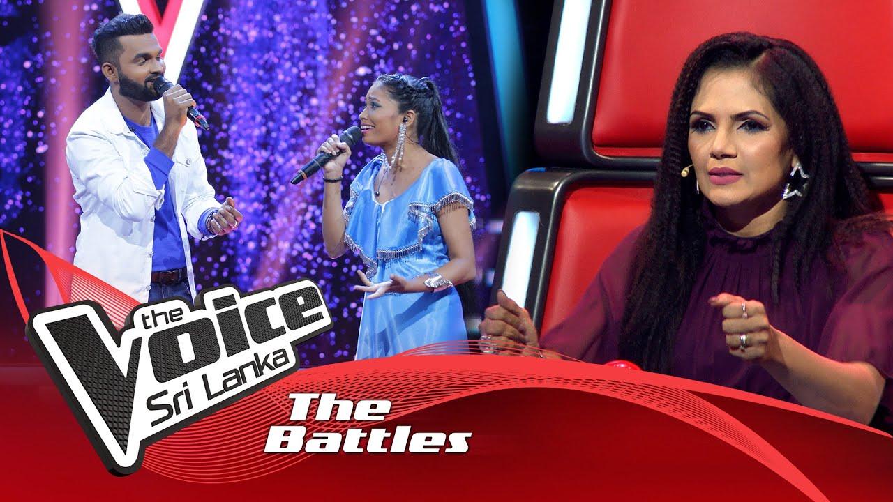 The Battles : Shanadee Rohana V Thamara Darshana | Kavi See Pada Ahena Raata | The Voice Sri Lanka