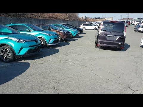 Фирмы готовы везти на видео, авто из Японии