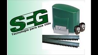 Instalação do motor deslizante SEG CH e Garen Placa GII 3 de 3
