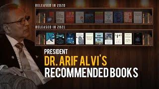 President Dr. Arif Alvi's recommended books for year 2021
