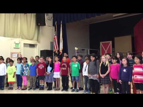 El Carmelo Elementary School Second Graders' Wednesday Night Performance