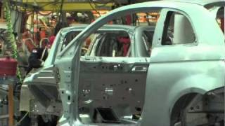 Toluca Assembly Plant   Fiat 500 manufacturing footage
