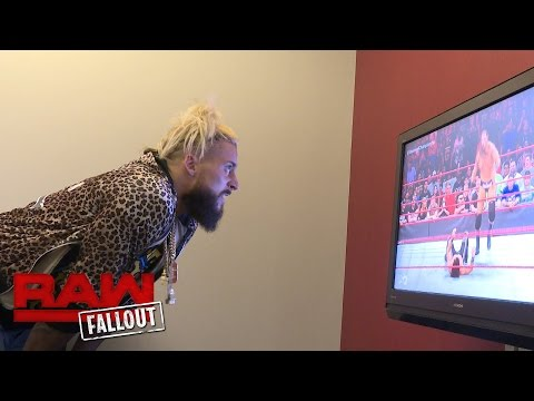 Enzo Amore watches the biggest match of Big Cass' career: Raw Fallout, Aug. 29, 2016