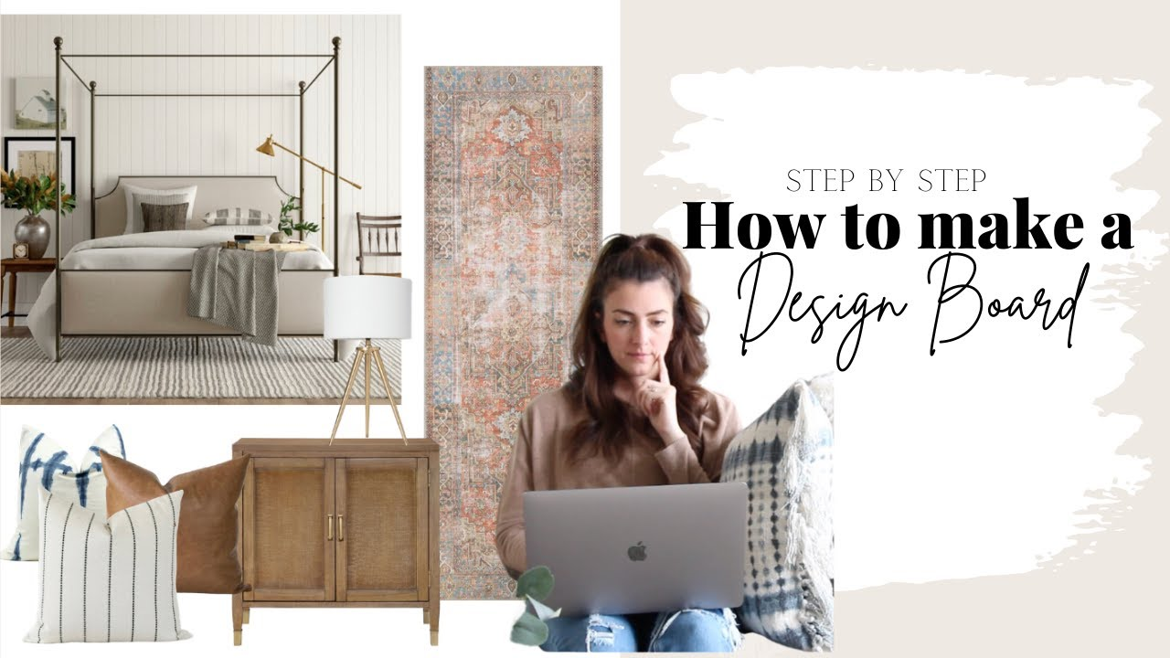 How To Make A Design Board Create A Mood Board With Canva 2020 Youtube