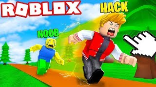 USEI HACK E VIREI O MAIS RÁPIDO DO ROBLOX !