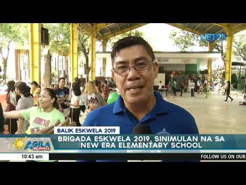 Brigada Eskwela 2019, sinimulan na sa New Era Elementary School