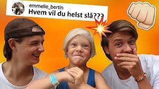 LILLE FÆTTER SVARER PÅ SPØRGSMÅL!!