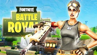NO SCOPE GAME WINNING TRICKSHOT!!! (15 Kill Solo Game) - Fortnite Battle Royale