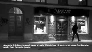 Bombing With Ligisd pt.1. (Graffiti documentary).