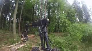 Ponsse Ergo 6 wd Harvester in Poland HD
