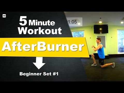Best After Burn Exercises for your Workouts for Men & Women (AFTERBURN EFFECT)