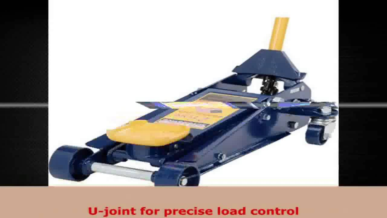 hein werner hw93642 blue hydraulic service jack 2 ton capacity