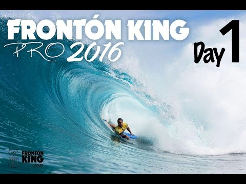 Gran Canaria Fronton King Pro 2016 Highlights day 1