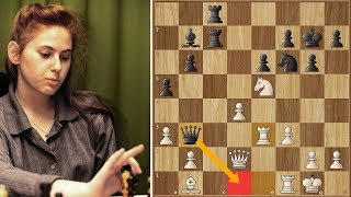 Karpov's Mysterious Queen Sacrifice Against Judit Polgar