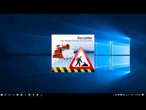 Undelete Files, Recover Deleted Files Using ReclaiMe File Recovery