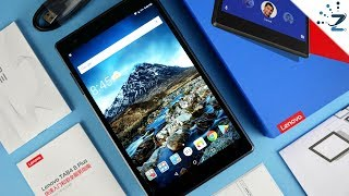 Lenovo Tab4 8 Plus Tablet Unboxing and Hands On! 🤔