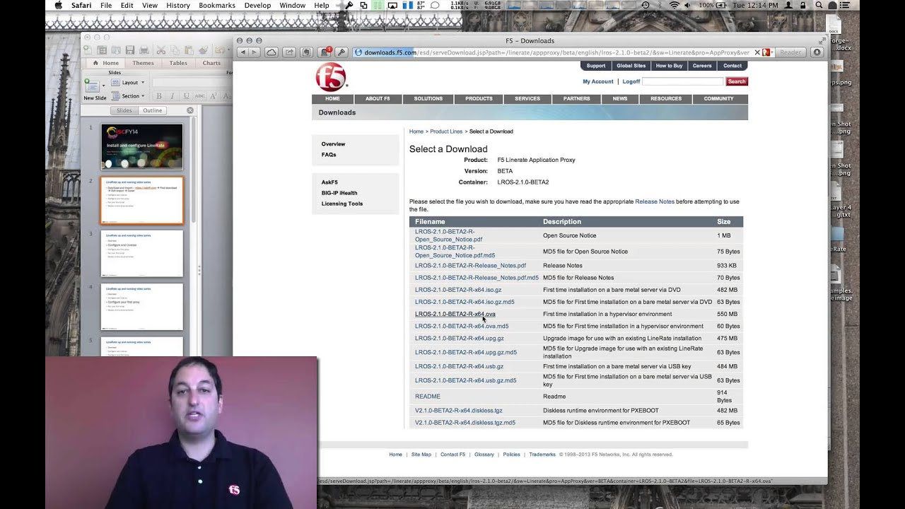 LineRate Up and Running: Download and Import LineRate into Your VM