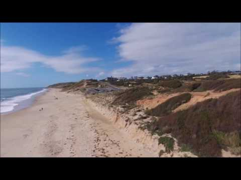Maslin's Beach Fly over