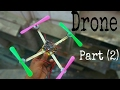 How to make drone with DC motor at home