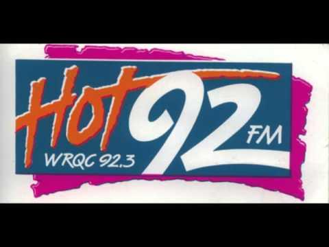 Rick Allen Radio Aircheck WRQC Hot 92 Cleveland Ohio1989