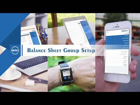 Balance Sheet Group Setup
