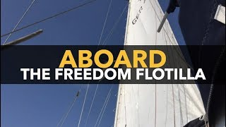 Dimitri Lascaris Reporting From Spain Aboard The Freedom Flotilla