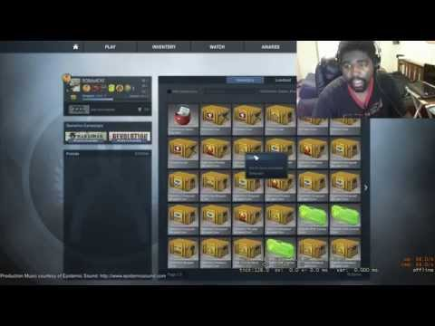 5,000 sub $55.00 worth of keys Case unboxing  {never again}