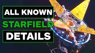 All Starfield Gameplay Details That Have Been Revealed