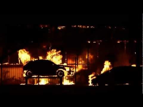 Incêndio Panambra - Pelotas, Rio Grande Do Sul (fire In A Car Dealership - Brazil)