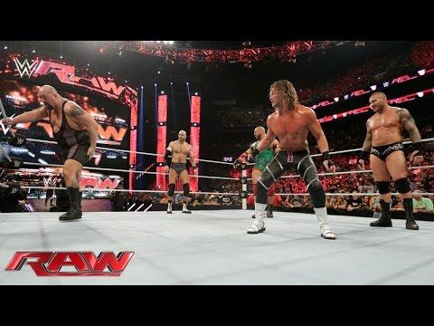 Orton, Ryback, Cesaro & Ziggler vs....