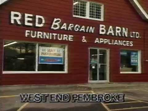 Red Bargain Barn Commercial [1992]