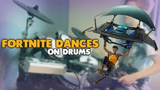Fortnite Dances ON DRUMS! | Nirotall