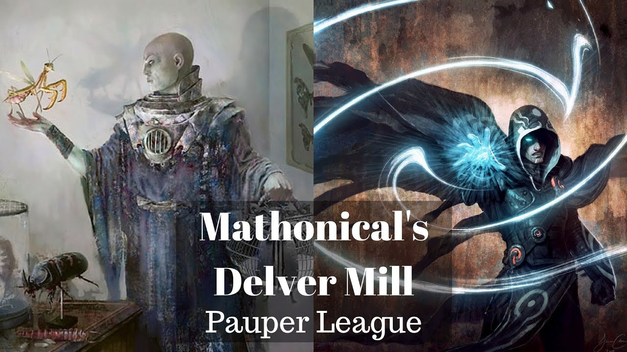 Pauper League 4 W Delver Mill Intro Deck Tech Youtube