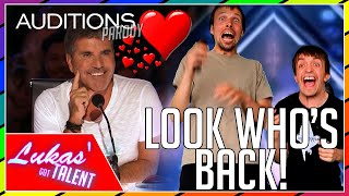 Cover images Simon Cowell FALLS IN LOVE with the FUNNIEST DUO | AMERICA'S GOT TALENT - NEVER SEEN BEFORE (parody)