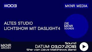 ▶️ Lichtshow mit Dashlight 4 (Song: She von Dave Matthews Band)