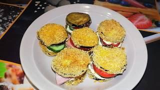 Баклажановые Бутерброды...
