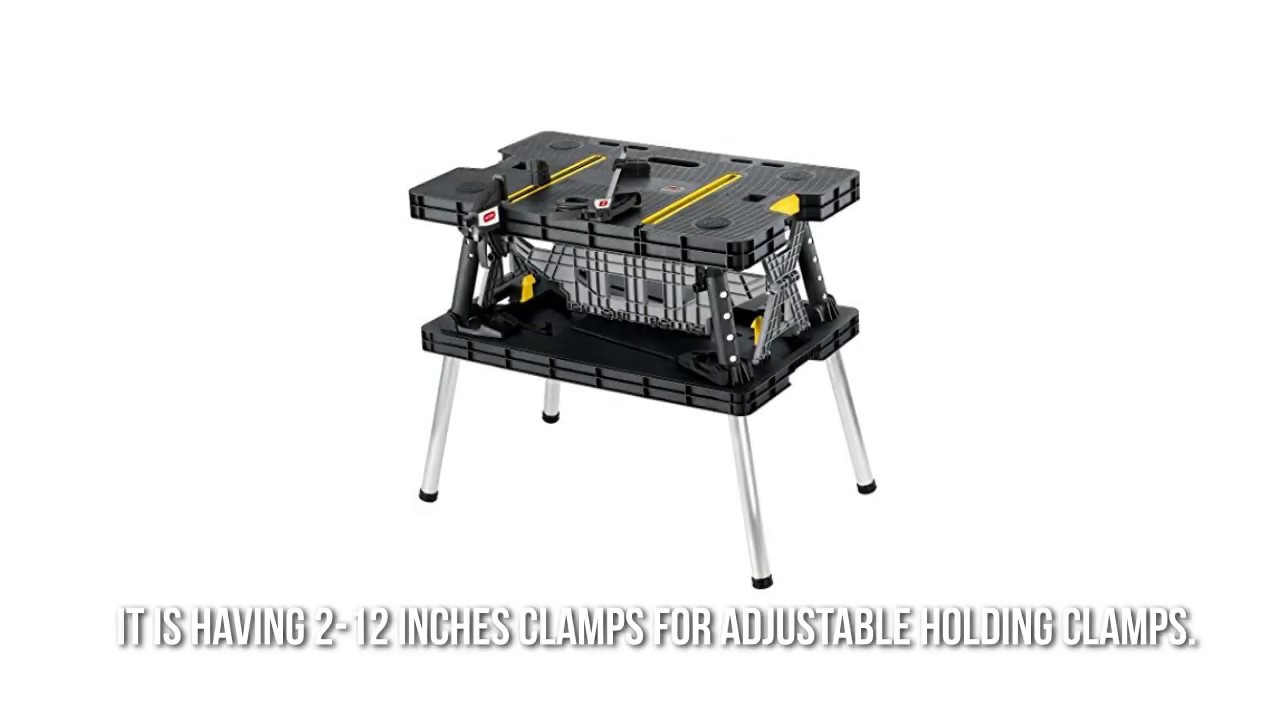 Folding table keter - Keter Folding Workbench Review