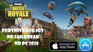 How To Download Fortnite Battle Royale For Ios [FORTNITE IOS][NO JAILBREAK][NO PC]