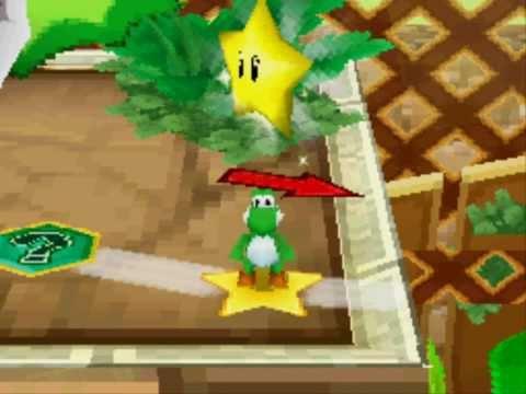 Mario Party DS - Adventure - Wiggler's Garden
