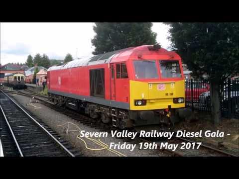 Severn Valley Railway Diesel gala festival - Friday 19th May 2017